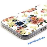 Husa Fashion TPU Galaxy J7(2015), Flowers
