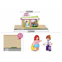 КОНСТРУКТОР GIRL IS DREAM Pet Shop 195pcs