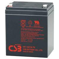 CSB Battery HR 1221 F2, Battery 12V 5AH
