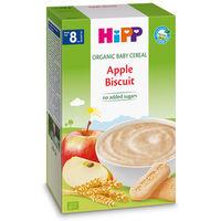 Hipp каша органические злаки безмолочная,яблоко с печеньем, 8+мес. 250 гр