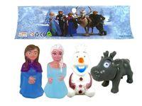 """купить Набор игрушек для купания """"Frozen"""", 4шт резиновые в Кишинёве"""