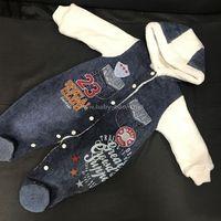 Bestido 5146 Комбинезон джинсовый на меху для мальчика