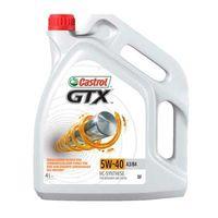 Моторные масла Castrol GTX SAE 5W-40 A3/B4 4л