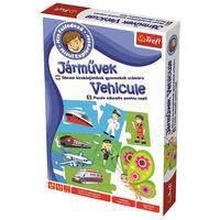 Игра настольная Vehicles Little Explorer (ro), код 43086