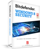 BITDEFENDER Windows 8 Security 1 year 1 user, черный