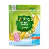 Heinz каша овсяная молочная c бананом, 6+меc. 250г