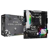 ASRock B450M STEEL LEGEND, AM4 AMD B450 mATX