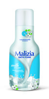Гель для душа и пена для ванны Malizia Молоко 1000мл
