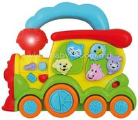 """Baby Mix DI-WD 3635 Музыкальная игрушка """"Поезд"""""""