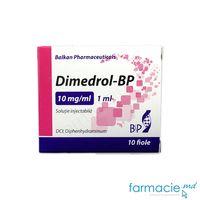 Dimedrol-BP sol. inj. 10 mg/ml 1 ml  N5x2 (Balkan)