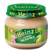 Heinz пюре сочное яблочко, 4+мес. 80г