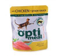Optimeal «Защита иммунитета» Корм для кошек с курицей - 85 г