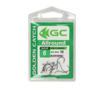 Крючки Golden Catch Allround Nr6, 10шт