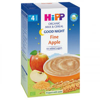 Hipp каша Спокойной ночи рисово-пшеничная молочная с яблоком, 4+мес. 250г
