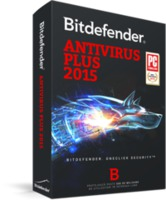 BITDEFENDER Antivirus Plus 1 year 1 user, черный