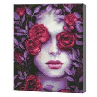Благоухание цветов, 40x50 см, алмазная мозаика Артукул: QA204274