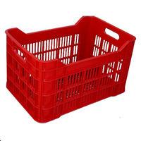 cumpără Ladă din plastic A101, 530x350x315 mm, roşu în Chișinău