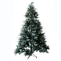 Новогодняя елка,  Блестящий, 2.10м, Шишки
