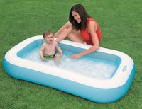 Intex Детский надувной бассейн 166x100x28 см, 102 Л