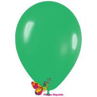 купить Латексный воздушный шар Зеленый -30 см в Кишинёве