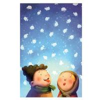 купить Почтовая Открытка – Снежинки в Кишинёве