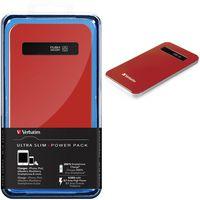 Зарядное устройство VERBATIM Slim 4200 mAh красный