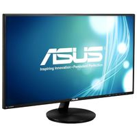 """27.0"""" ASUS """"VN279Q"""", Black (A-MVA, 1920x1080, 5ms, 300cd, LED100M:1, D-Sub, HDMI-MHL, DP, 2x2W) (27.0"""" A-MVA+ W-LED, 1920x1080 Full-HD, 0.311mm, 5ms (GTG), 300 cd/m², DCR 100 mln:1, 16.7M, 178°/178° @C/R>10, 31.5~67.5 KHz(H)/ 56~75Hz(V), D-sub + HDMI-MHL + DiplayPort, Stereo Audio-In, HDMI Audio-In, Headphone-Out, Built-in speakers 2Wx2, Built-in PSU, Fixed Stand (Tilt -5/+22°), VESA Mount 100x100, Black, Super Narrow Frame)"""