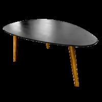 cumpără Masuţă din lemn cu suprafaţa neagră. Dimensiuni: 1160x650x450 mm în Chișinău