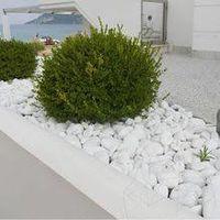 купить Камней Мрамор галтованный ярко-белый (кг.) в Кишинёве