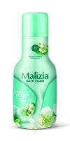 Гель для душа и пена для ванны Malizia Белый мускус 1000мл