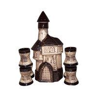 Set de vin Castel+6pahare /7