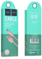 Hoco X2 Micro USB knitted cable 1.0m, Gold
