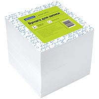 OfficeSpace Бумага для заметок OFFICESPACE, 90x90x90 мм, белая