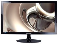 """24.0"""" SAMSUNG """"S24D300H"""", G.Black (1920x1080, 2ms, 250cd, LED DCR 5'Mln:1, HDMI+D-Sub) (23.6"""" TN W-LED, 1920x1080 Full-HD, 0.248mm, 2ms (GtG), 250 cd/m², Mega DCR 5'Mln:1 (1000:1), 16.7M, 170°/160° @CR>10, D-Sub + HDMI, External Power Adapter, Fixed Stand T-Sape (Tilt -1/+20°), Black-Glossy)"""