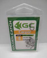 Крючки Golden Catch Carper Nr8, 10шт
