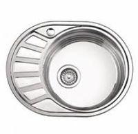 Кухонная  мойка  FABIANO  57  45  0.8  риф  правая