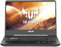 "NB ASUS 15.6"" FX505DT (Ryzen 5 3550H 8Gb 512Gb) 15.6"" FHD (1920x1080) Non-glare, AMD Ryzen 5 3550H (4x Core, 2.1GHz - 3.7GHz, 4Mb), 8Gb (1x 8Gb) PC4-19200, 512Gb PCIE, GeForce GTX 1650 4Gb, HDMI, Gbit Ethernet, 802.11ac, Bluetooth, 2x USB 3.2, 1x USB 2.0, HD Webcam, No OS, 3-cell 48Wh Battery, Illuminated RGB Keyboard, 2.2kg, Stealth Black"