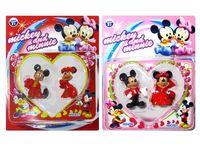 """купить Набор персонажей """"Mickey&Minnie"""", 2шт 22.5X18X3.5cm в Кишинёве"""
