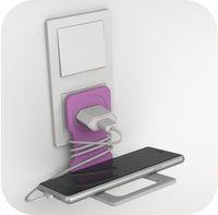 Durable Подставка DURABLE Varicolor, для моб. телефона, розовая