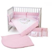 Veres Комплект для кроватки Flamingo Pink, 6 штк