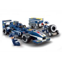 "КОНСТРУКТОР 1:32  Racing Car ""BLUE LIGHTNING"""