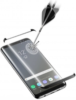 Cellularline Tempered Glass for Samsung Note9 Curved Black