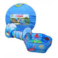 Essa Toys Палатка детская с тоннелем и сухим бассейном