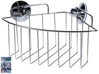 Корзина для ванной угловая Сталь 25X17.5X10cm, металл