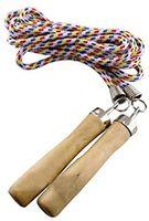 Скакалка с деревянными ручками 2.8 м Abisal SK01A (345)
