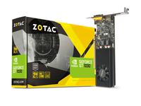 ZOTAC GeForce GT 1030 2GB GDDR5, 64bit, 1468/6000Mhz, Single Fan, HDCP, SL-DVI-D, HDMI, Lite Pack