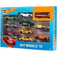 Mattel Hot Wheels Набор машинок, 10 шт.
