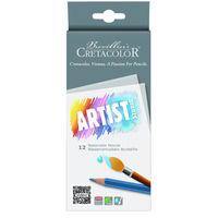 Набор цветных акварельных карандашей, 12 шт, Artist Studio Cretacolor