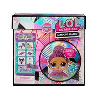 L.O.L Surprise игровои набор с куклои зимнии сад