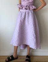 Юбка ZARA Фиолетовый 1165/058/629